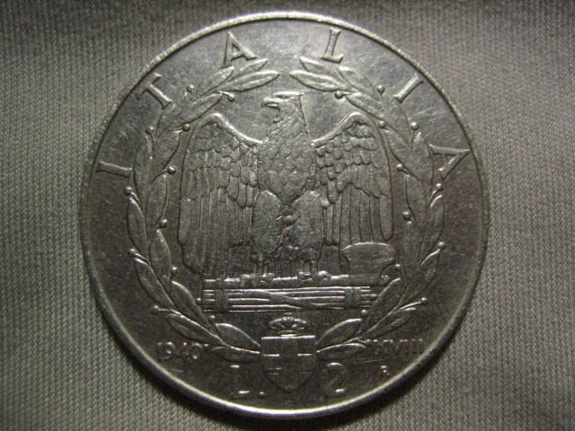 2 Lire 1940 D