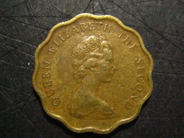 20 centesimi Hong-Kong 1975 R