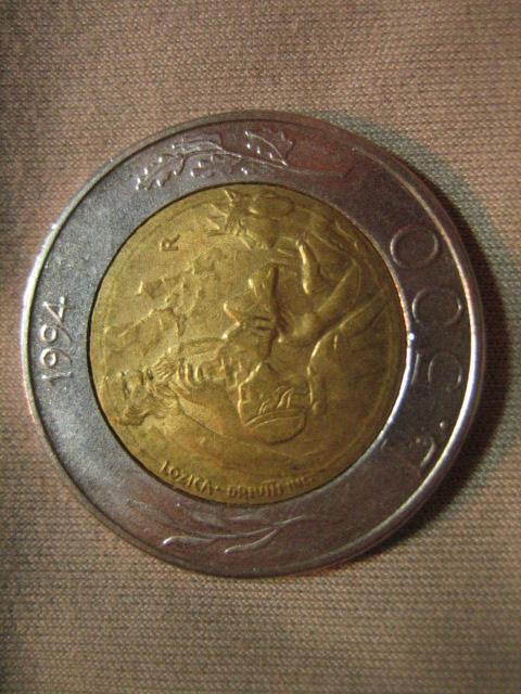 500 Lire San Marino 1994 D
