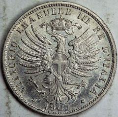 25 centesimi 1903 R R/