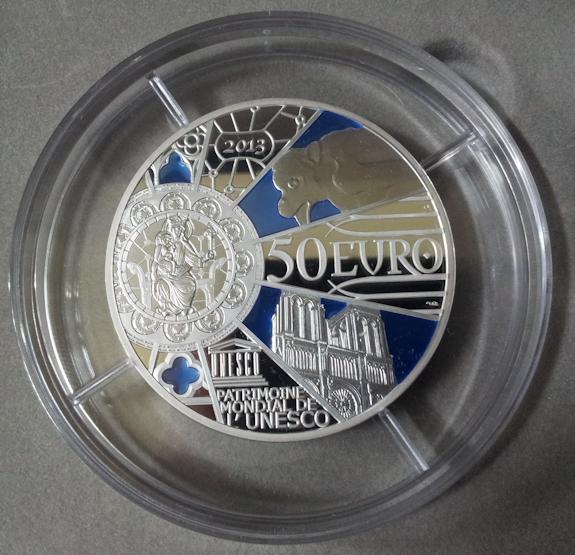 50€ Notre Dame 2013