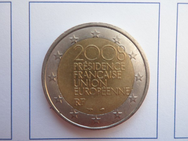 2 Euro CC Francia 2008