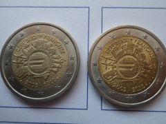 2 Euro TYE Francia x2