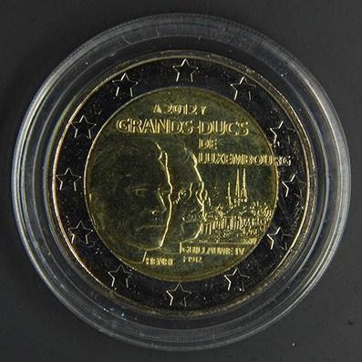 LUSSEMBURGO 2012 - 100° anniv. morte del Granduca Guglielmo IV Tiratura   700.000.jpg