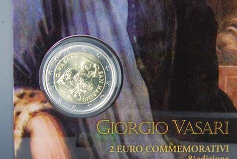 SAN MARINO 2011 - 500° anniv  nascita Giorgio Vasari Tiratura 130.000.JPG