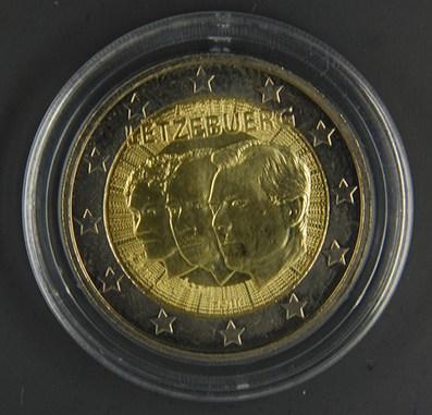 LUSSEMBURGO 2011 -50° anniv. nomina di Jean come erede della granduchessa Carlotta Tiratura   700.000.jpg
