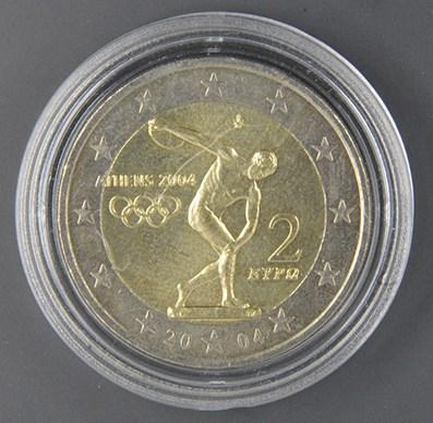 """GRECIA 2004    """"Giochi Olimpici Atene 2004"""" Tiratura 34.500.000"""