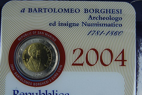 SAN MARINO 2004 - Bartolomeo Borghesi Tiratura 110.000.JPG
