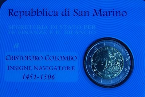 SAN MARINO 2006 - Cristoforo Colombo Tiratura 120.000.JPG