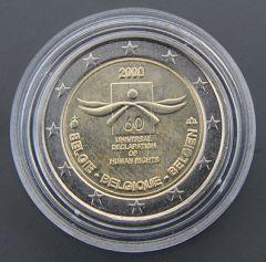 """BELGIO 2008  """"60° anniv.della Dichiarazione Universale Dei diritti dell'uomo"""" Tiratura 5.000.000"""