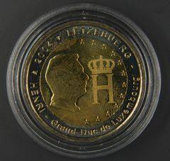 LUSSEMBURGO 2004 -Gran Duca Henry Tiratura 2.447.800.jpg