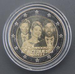 """LUSSEMBURGO 2012- """"Matrimonio del-principe"""" Tiratura  500.000.jpg"""
