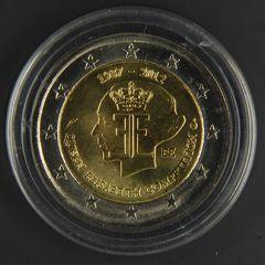 BELGIO 2012  75 anni Concorso musicale regina Elisabetta   Tiratura 5.000.000