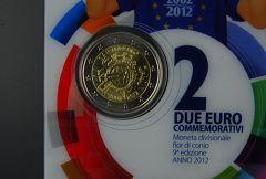 SAN MARINO 2012 -  10 anni di banconote e monete in euro Tiratura 125.000.JPG