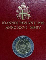 VATICANO 2004 - 75° Anniv. dell'Istituzione dello Stato del Vaticano Tiratura 85.000.JPG