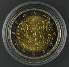 FINLANDIA 2005  50° anniv. Adesione all'ONU Tiratura 1.948.394