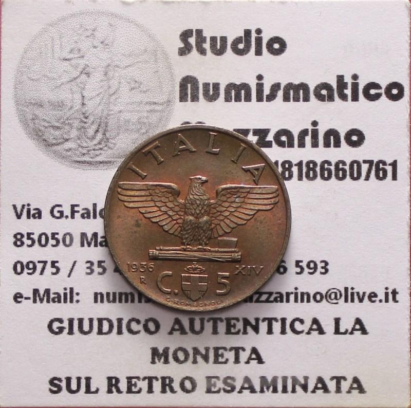 5 cent 1936 1