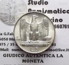 5 lire 1930 1