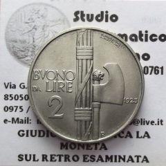 buono 2 lire 1923 1