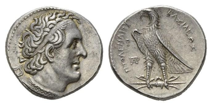 NN5 Lot 74 - Egypt, Ptolemy I, 305-282 Ptolemy Kings Tetradrachm Alexandria circa 305-282