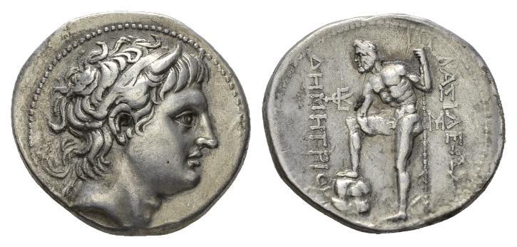 NN6 Lot 30 - Kingdom of Macedon, Demetrius Poliorcetes, 306 – 283 Tetradrachm Pella circa 291-290