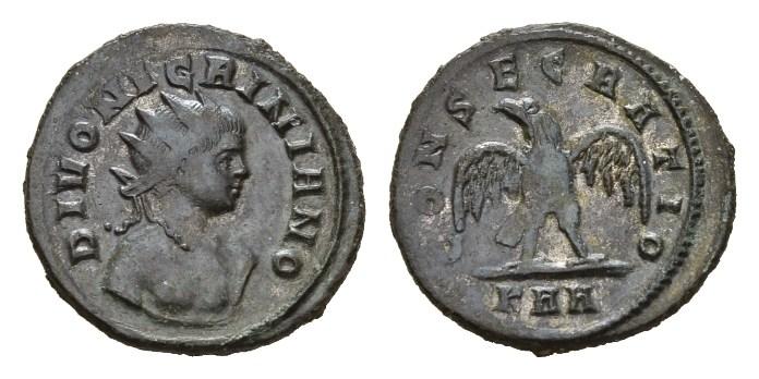 NN5 Lot 185 - Divo Nigriniano, son of Carinus Antoninianus circa 284-285