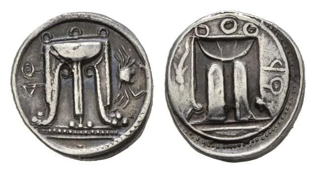 NN5 Lot 16 - Bruttium, Croton Nomos circa 480-450