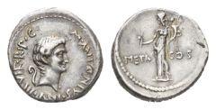 NN 7 Lot 131  - Marcus Antonius. Denarius mint moving with Marcus Antonius 41