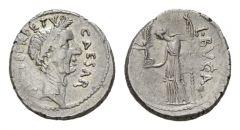 NN 2 Lot 109 - Julius Caesar and L. Aemilius Buca. Denarius 44.