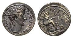 NN 2 Lot 110 - Octavian as Augustus, 27 BC-14 AD Tetradrachm, Seleucis and Pieria (Antiochia) circa 2 BC.