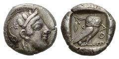 NN5 Lot 51 - Attica, Athens Tetradrachm circa 459-449.
