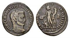 NN 2 Lot 163 - Domitius Domitianus, 295-296 Follis, Alexandria circa 295-296.
