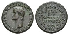 NN 7 Lot 142 - Gaius, 37-41 Sestertius circa 40-41