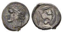 NN5 Lot 28 - Sicily, Leontini Tetradrachm circa 430