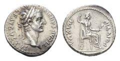 NN 9 Lot 200 - Tiberius, 14-37 Denarius Lugdunum circa 14-37
