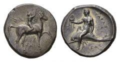 NN 3 Lot 6 - Calabria, Tarentum Nomos circa 281-270.