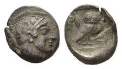 NN 2 Lot 53 - Attica, Athens Didrachm circa 465.