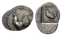NN 3 Lot 22 - Sicily, Himera Chalcidian drachm circa 520-515.