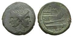 NN 3 Lot 86 - Sextus Pompeius Magnus Pius As, Sicily circa 42-38.