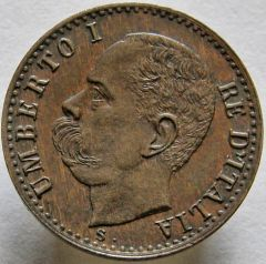 1 cent. 1896 R. D.