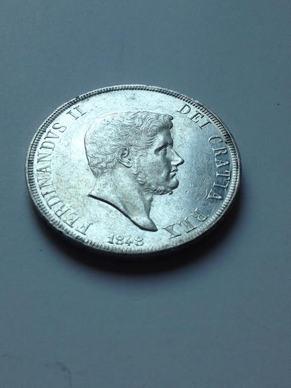 120 grana Ferdinando II 1848