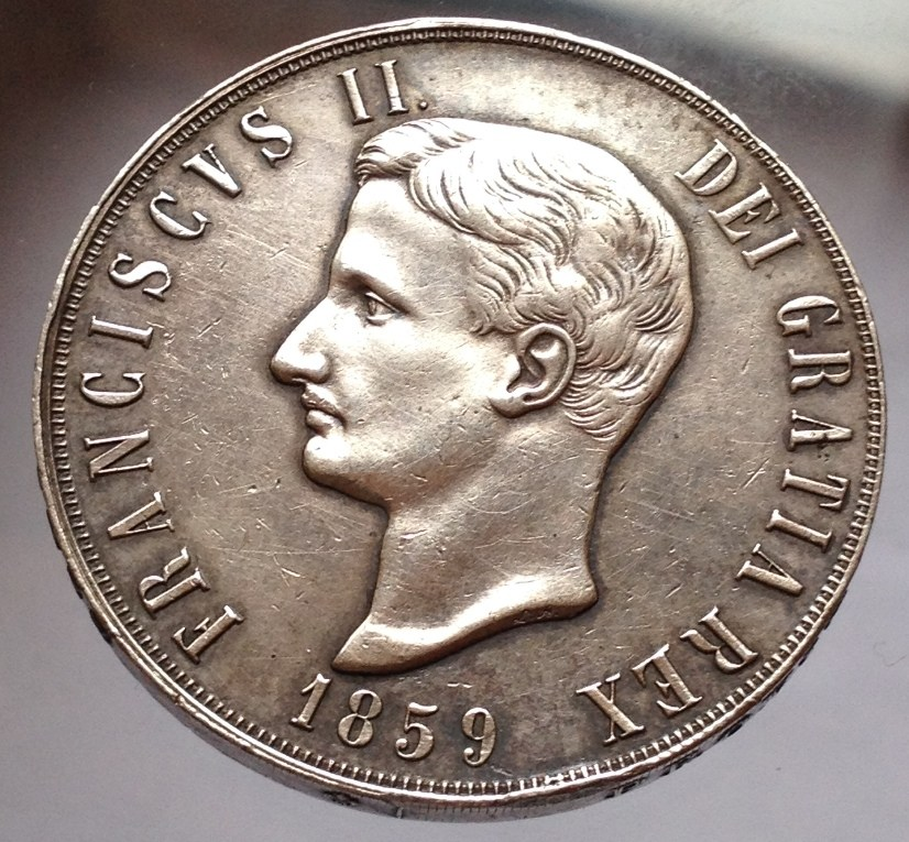 120 grana Francesco II 1859