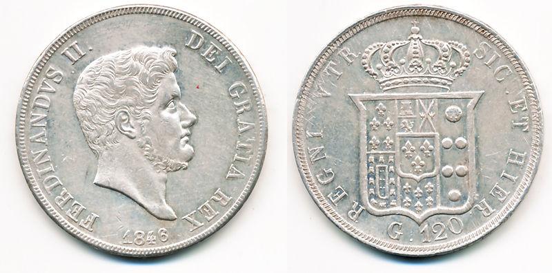 120 Grana Ferdinando II 1846