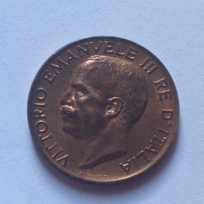 5 Centesimi spiga 1922