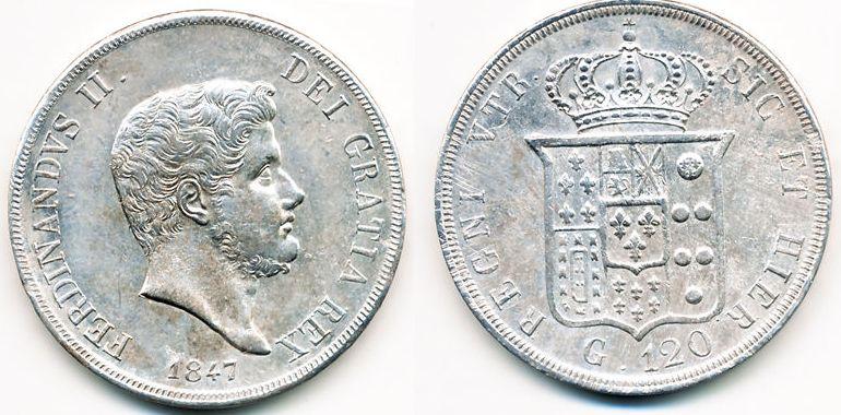 120 Grana Ferdinando II 1847