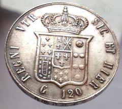 120 grana Francesco II 1859