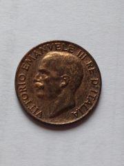 5 Centesimi spiga 1934