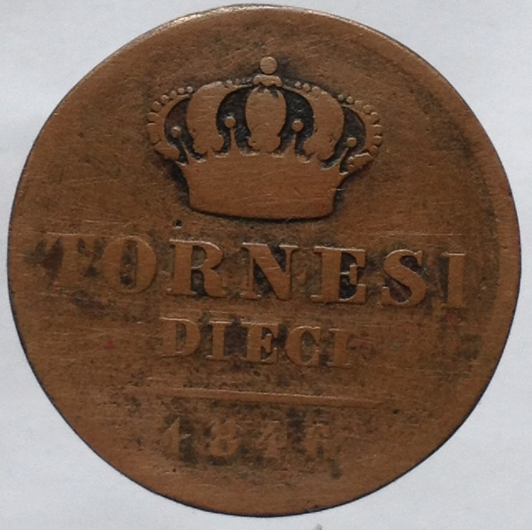 10 Tornesi 1846