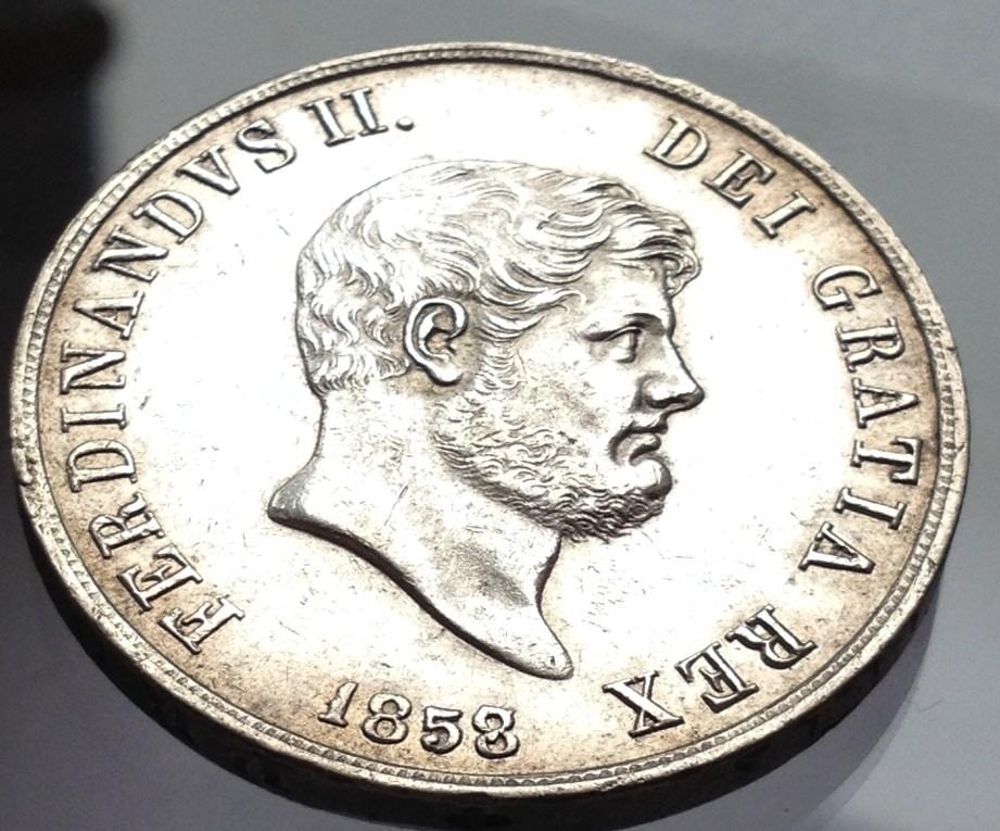 120 grana Ferdinando II 1858