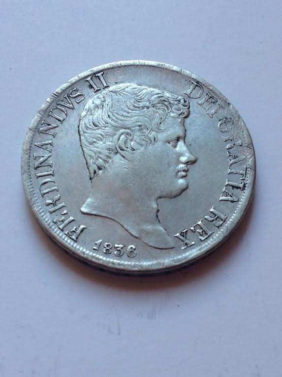 Ferdinando II 120 grana 1836